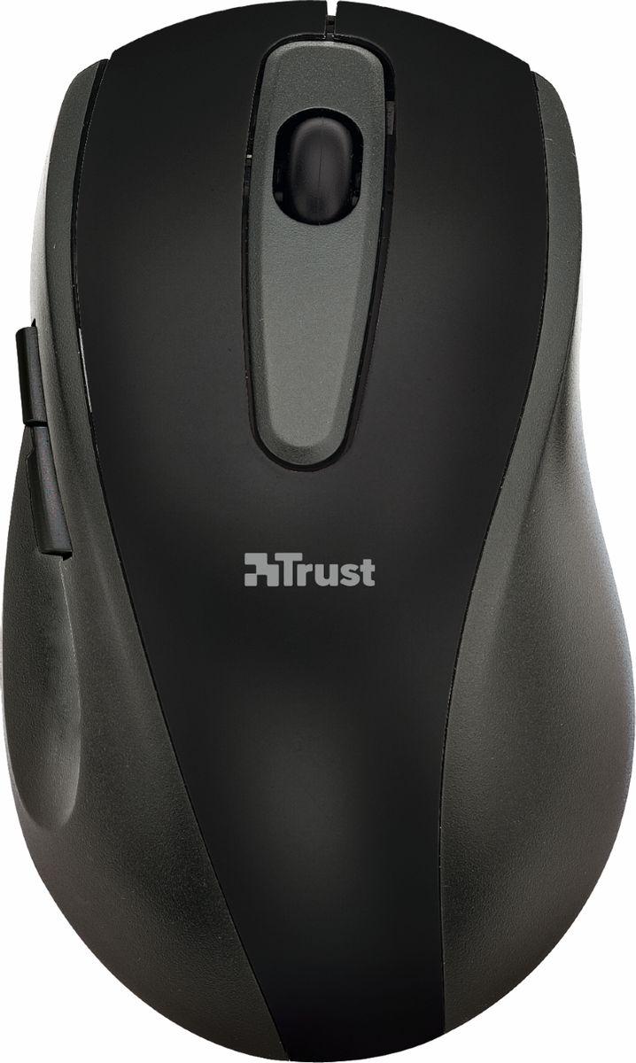 Trust EasyClick Wireless Mouse, Silver Black мышь