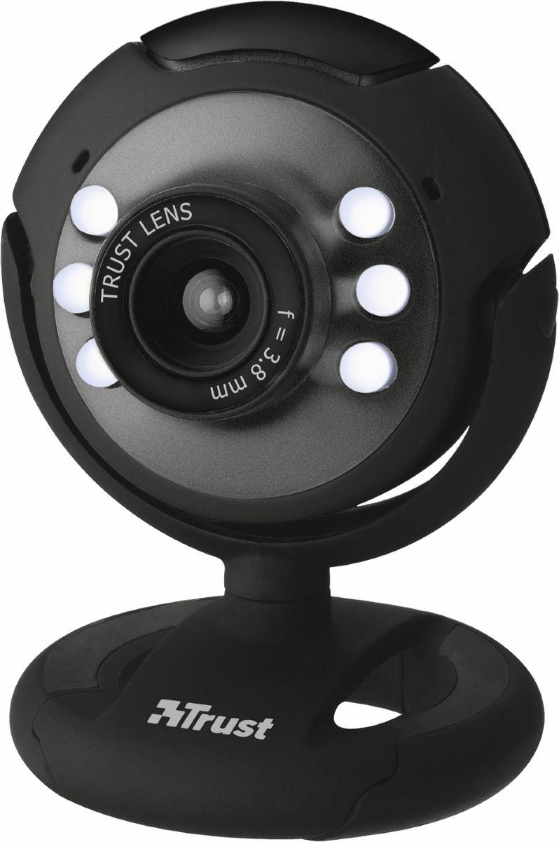 Trust SpotLight Webcam, Black web-камера
