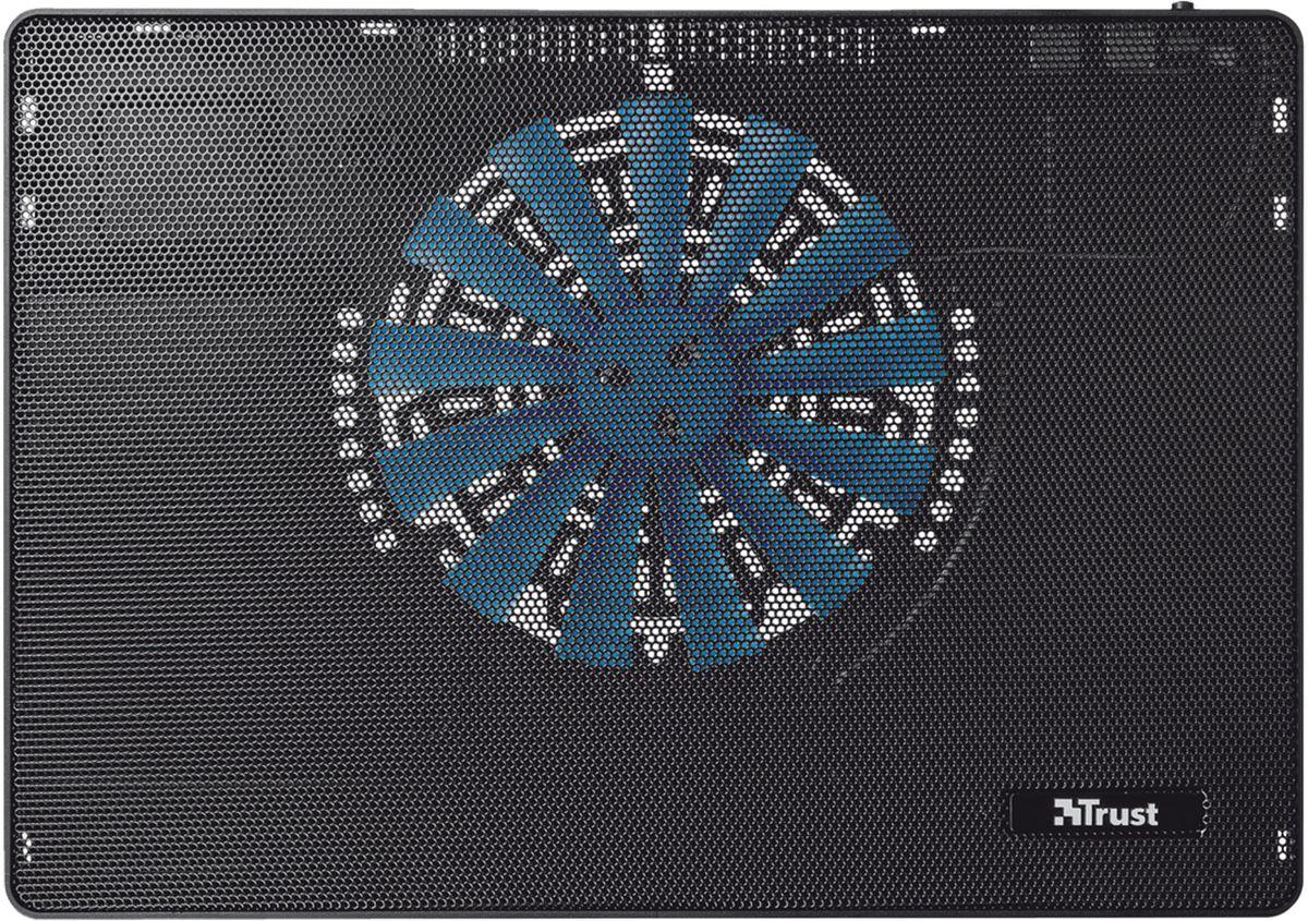 Trust Frio Laptop Cooling Stand, Black охлаждающая подставка для ноутбука