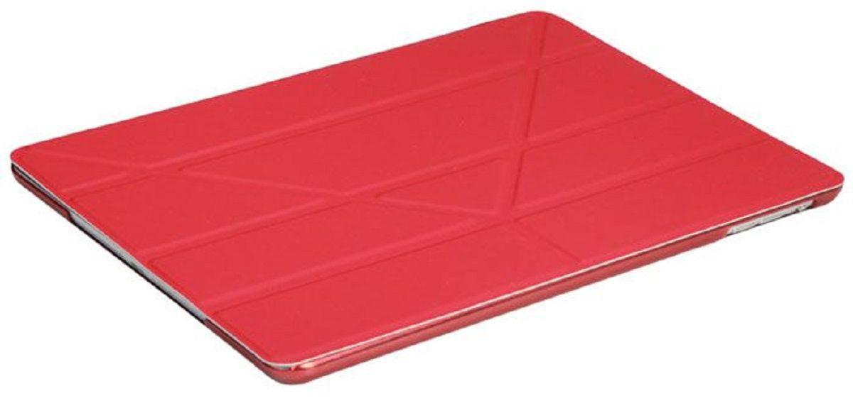 IT Baggage чехол для Apple iPad Pro 9,7, RedITIPADPRO97-3Чехол IT Baggage для планшета Apple iPad Pro 9,7 надежно защищает ваше устройство от случайных ударов и царапин, а так же от внешних воздействий, грязи, пыли и брызг. Крышку можно использовать в качестве настольной подставки для вашего устройства. Чехол приятен на ощупь и имеет стильный внешний вид. Он также обеспечивает свободный доступ ко всем функциональным кнопкам планшета и камере.