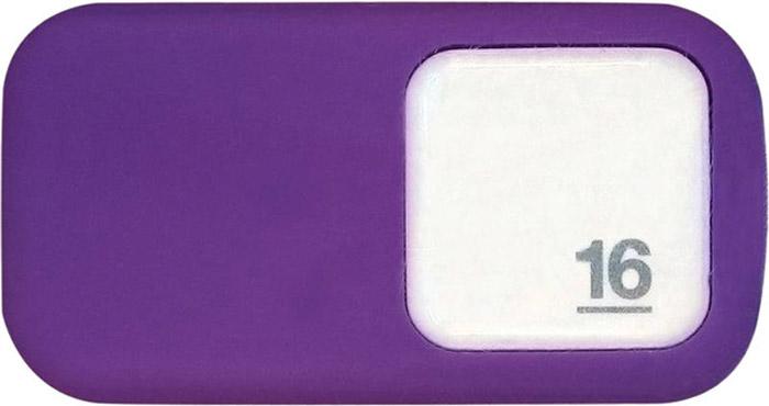 QUMO Silicone 16GB, Violet USB-накопитель