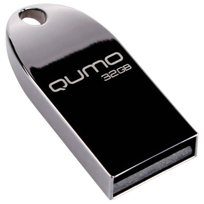 QUMO MetalDrive Dark 32GB USB-накопитель