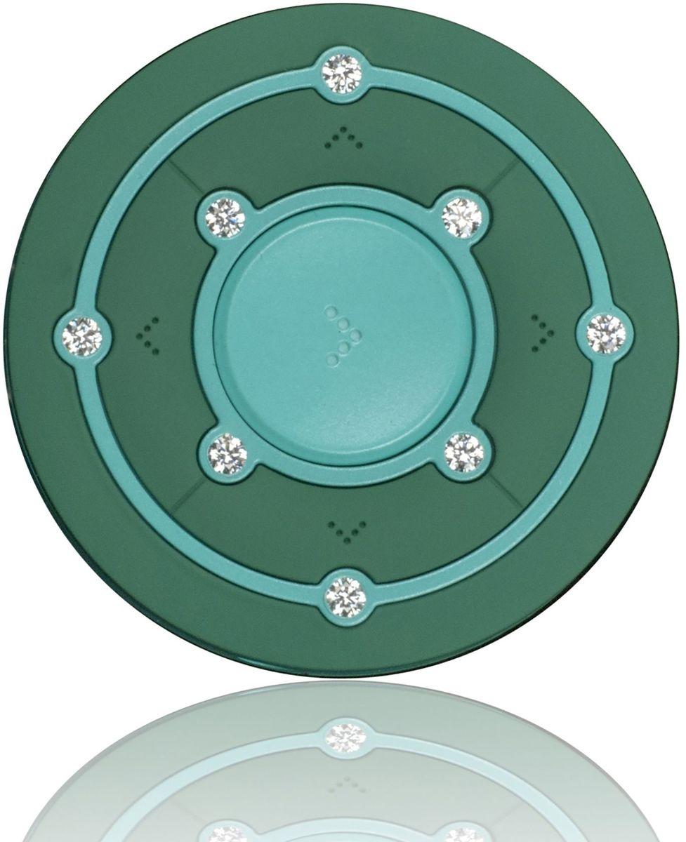 Ritmix RF-2850 8Gb, Green MP3-плеер15118339Ritmix RF-2850 - это компактный MP3-плеер, предназначенный для тех, кто ценит стиль и индивидуальность. Круглый корпус украшен Swarovski Zirconia, которые придают устройству неповторимый шарм. Плеер оснащён надёжным креплением в форме клипсы, что несомненно обрадует любителей активного образа жизни.
