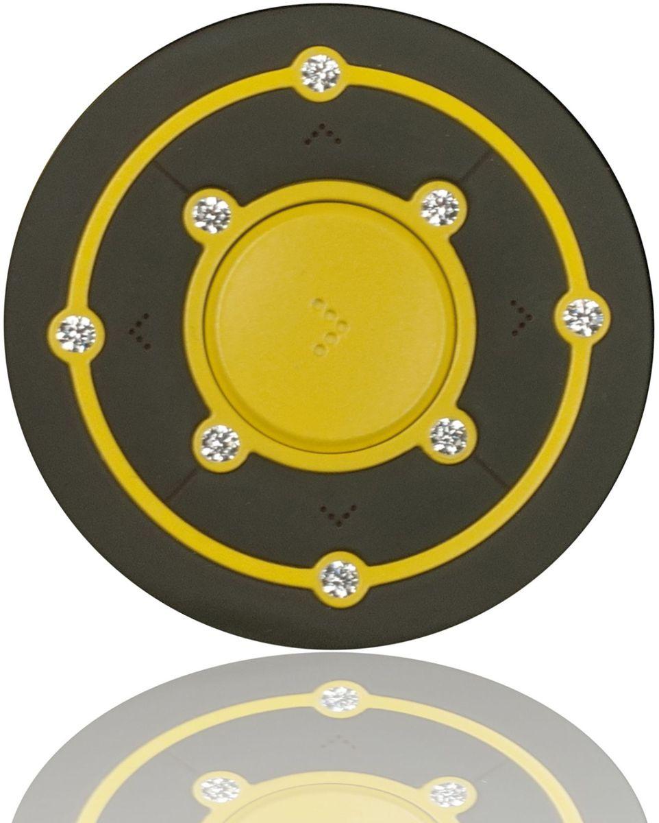 Ritmix RF-2850 8Gb, Yellow/Brown MP3-плеер15118341Ritmix RF-2850 - это компактный MP3-плеер, предназначенный для тех, кто ценит стиль и индивидуальность. Круглый корпус украшен Swarovski Zirconia, которые придают устройству неповторимый шарм. Плеер оснащён надёжным креплением в форме клипсы, что несомненно обрадует любителей активного образа жизни.