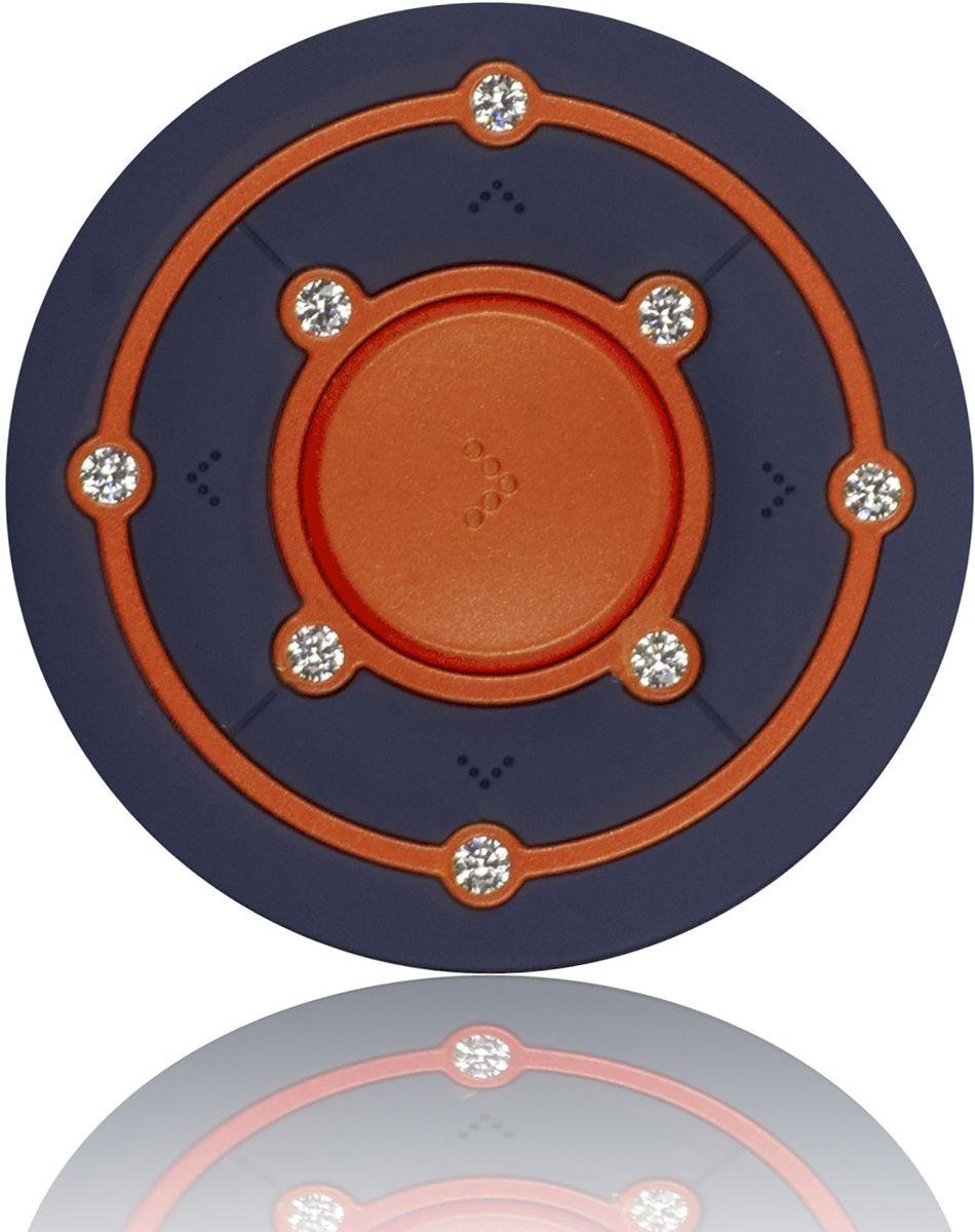 Ritmix RF-2850 8Gb, Orange/Blue MP3-плеер15118342Ritmix RF-2850 - это компактный MP3-плеер, предназначенный для тех, кто ценит стиль и индивидуальность. Круглый корпус украшен Swarovski Zirconia, которые придают устройству неповторимый шарм. Плеер оснащён надёжным креплением в форме клипсы, что несомненно обрадует любителей активного образа жизни.