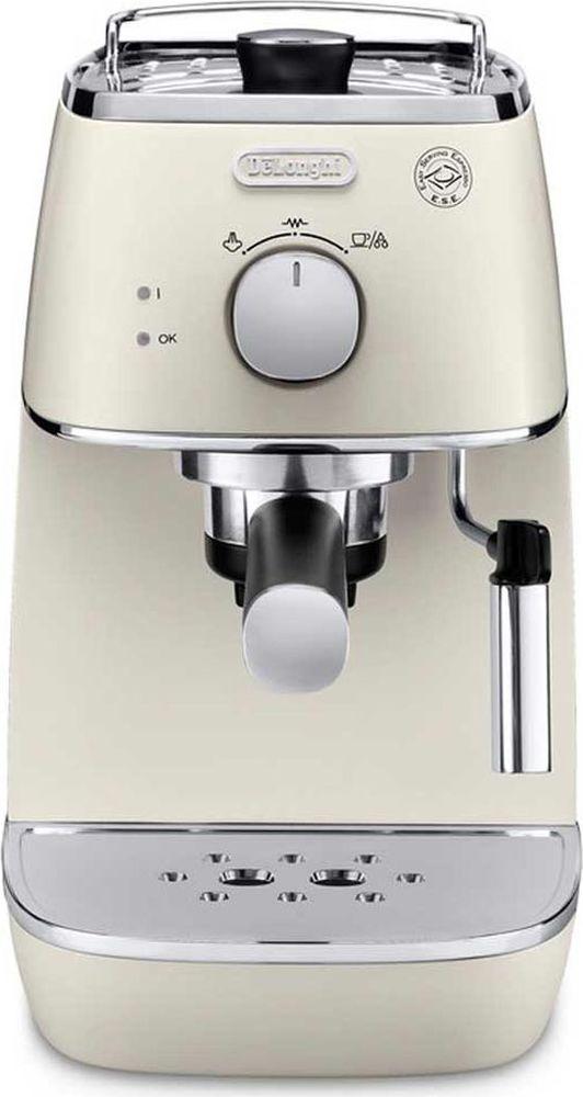 DeLonghi Distinta ECI341, White рожковая кофеварка