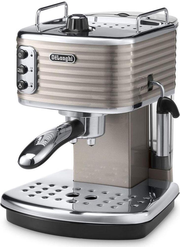DeLonghi Scultura ECZ351, Beige рожковая кофеварка