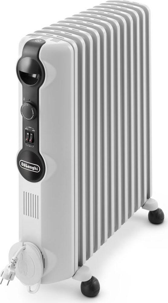 DeLonghi TRRS1225 масляный радиаторTRRS1225Масляный обогреватель DeLonghi TRRS 1225 C – это залог комфорта и уюта в вашем доме. С ним любые холода не страшны, ведь обогреватель имеет 12 секций и гарантирует 100% отдачу тепла. Вы сможете использовать его для обогрева помещений 75 куб. м. Модель выполнена в обновленном функциональном дизайне, обогреватель выглядит стильно и аккуратно, он будет хорошо смотреться в любом интерьере. Прибор имеет безопасную конструкцию: отверстия для выхода воздуха и решетки на тыльной и передней и сторонах, спроектированы таким образом, что, к примеру, ребенок не сможет случайно просунуть палец внутрь обогревателя. Прибор соблюдает все нормы безопасности и имеет сертификат от VDE Testing and Certification Institute. Если хотите, что в вашем доме всегда было тепло и комфортно, однозначно стоит купить TRRS1225C. По сравнению с предыдущими поколениями обогревателей, его поверхность отдает на 35% больше тепла. Технология Real Energy обеспечивает эффективный и равномерный нагрев...