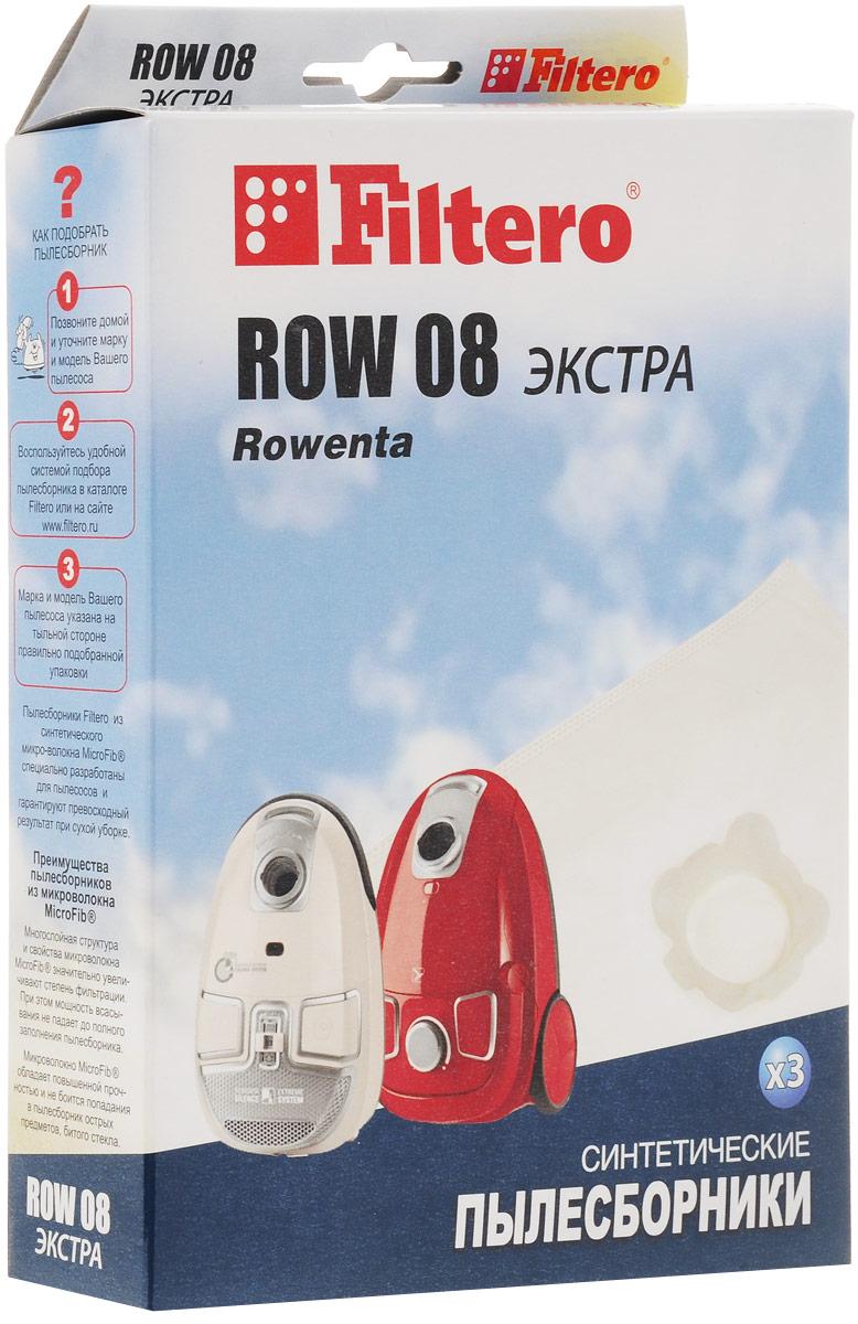 Filtero ROW 08 Экстра мешок-пылесборник 3 шт