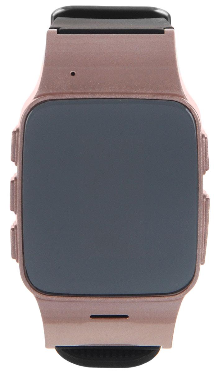 TipTop 700ВЗР, Pink Gold детские часы-телефон00126Умные часы-телефон TipTop 700ВЗР с GPS-трекером созданы специально для тех, кто вам дорог. Универсальный стильных дизайн часов понравится и как подросткам, и так и пожилым людям. С ними вы всегда будете знать, где находится близкий вам человек и что с ним происходит. Управление часами происходит полностью через мобильное приложение, которое можно бесплатно скачать на AppStore или PlayMarket. Основные функции: С помощью мобильного приложения на карте в режиме онлайн видно, где находится близкий вам человек В часы вставляется SIM-карта. Вы всегда можете позвонить на часы, также носитель часов может совершать вызовы на важные номера (до 10 номеров) Вы можете слушать, что происходит рядом с теми, кто вам особенно дорог На часах есть кнопка SOS - в случае опасности необходимо нажать на эту кнопку и часы автоматически дозваниваются близким - кто быстрее ответит. Также высылают сообщения с координатами владельца часов На мобильный...