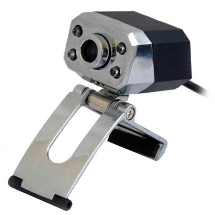 Ritmix RVC-047M Web-камера15116089Веб-камера RVC-047M использует сенсор на 2 мегапикселя, но при этом имеет светодиодную подсветку, интенсивность которой можно плавно менять от нуля до максимума при помощи регулятора на шнуре, а также металлический корпус. Устройство имеет несколько вариантов установки, включая крепление к ЖК-монитору и расположение на столе. Кадров в секунду: 30 Угол обзора объектива (по диагонали): 54° Фокусировка: ручная - от 5 см до бесконечности Форматы видео: AVI Графические форматы: JPG