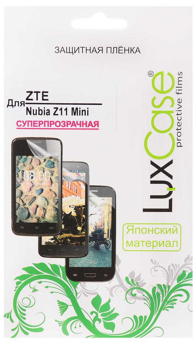 LuxCase защитная пленка для ZTE Nubia Z11 Mini, суперпрозрачная51485Защитная пленка LuxCase для ZTE Nubia Z11 Mini сохраняет экран смартфона гладким и предотвращает появление на нем царапин и потертостей. Структура пленки позволяет ей плотно удерживаться без помощи клеевых составов и выравнивать поверхность при небольших механических воздействиях. Пленка практически незаметна на экране смартфона и сохраняет все характеристики цветопередачи и чувствительности сенсора.