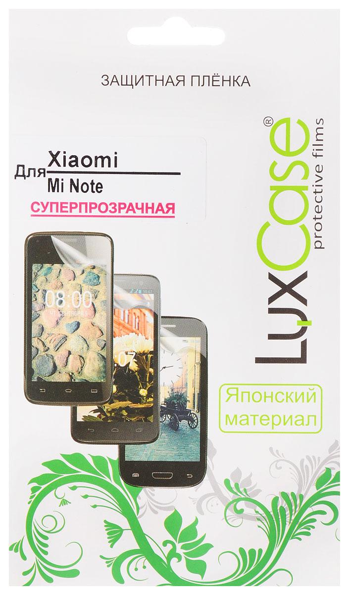 LuxCase защитная пленка для Xiaomi Mi Note, суперпрозрачная54846Защитная пленка LuxCase для Xiaomi Mi Note сохраняет экран смартфона гладким и предотвращает появление на нем царапин и потертостей. Структура пленки позволяет ей плотно удерживаться без помощи клеевых составов и выравнивать поверхность при небольших механических воздействиях. Пленка практически незаметна на экране смартфона и сохраняет все характеристики цветопередачи и чувствительности сенсора.