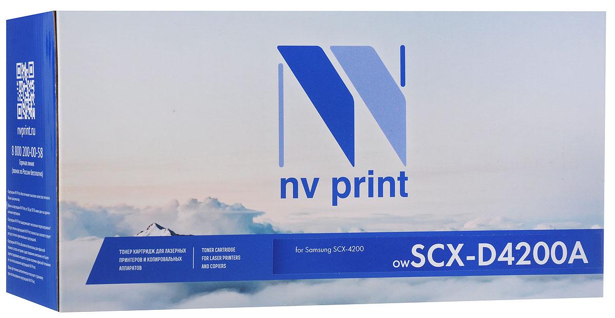 NV Print NV-SCXD4200A, Black тонер-картридж для Samsung SCX-4200