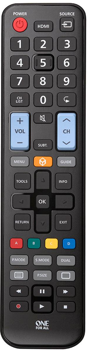 One For All URC1910, Black пульт ДУ для Samsung пульты программируемые urc mx 850