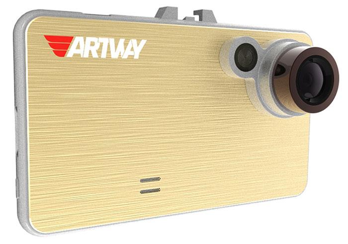Artway AV-111, Gold видеорегистратор4620019033514Для всех, кто ценит в девайсах простоту управления и практичность, видеорегистратор Artway AV-111 станет идеальным решением. Его отличает современный прогрессивный дизайн, который делает устройство легким в использовании. Большой и яркий дисплей диагональю 2,4 с высоким разрешением позволит вам с комфортом просматривать отснятые видеоролике на самом видеорегистраторе, разглядеть все детали или c удобством управлять настройкой видеорегистратора. Видеорегистратор записывает короткие видеоролики, длительностью 1, 2, 3 или 5 минут на карту памяти. В зависимости от объема, карта памяти будет заполнена через 5 -10 часов. Чтобы не стирать старые файлы вручную, процессор видеорегистратора сам будет стирать самые старые по дате и времени файлы, заменяя их новыми. Выбрать длительность видеоролика — 1, 2, 3 или 5 минут — можно самостоятельно, зайдя в настройки меню. Наличие функции штампа позволяет установить дату и время в файле видеозаписи, а...