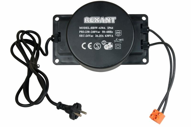 Трансформатор 220-24V 630 Вт326-112Трансформатор для Клип-лайта, 220-24 В, мощность 630 Вт
