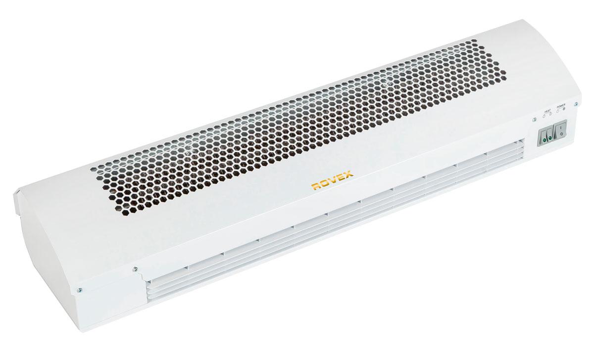 Rovex RZ-0306С тепловая завесаRZ-0306СПринцип работы тепловой завесы Rovex RZ-0306С таков: установленный в приборе вентилятор создает направленный поток теплого воздуха. Так образуется воздушная завеса, не позволяющая проникать воздушным массам в помещение, понижая при этом температуру. Тепловая завеса часто используется в торговых центрах, магазинах, ресторанах и промышленных предприятиях, где необходимо защитить помещение от пыли, грязи, холода или жары. Каждая тепловая завеса из серии «RZ» обладает такими преимуществами: Высокой мощностью и энергосбережением. Электрические воздушные завесы помогают сэкономить на отоплении помещений больших площадей. Кроме того, в устройства встроен СТИЧ - нагревательный элемент, способный быстро нагревать поток воздуха. Универсальностью. Электрическая завеса может работать в разных климатических условиях, несмотря на влагу и температуру воздуха. Надежностью. Устройства прослужат не один десяток лет. Безопасностью. Такое тепловое оборудование не...