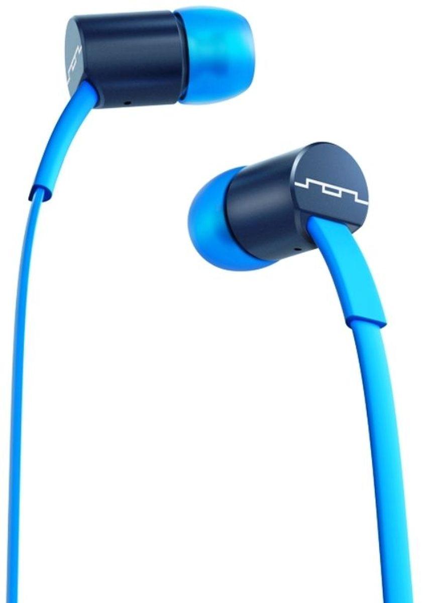 Sol Republic 1111-36 Jax Mfi, Blue Stellar наушники1111-36Внутриканальные наушники Sol Republic 1111 - это качественный звук, который всегда под рукой. Благодаря динамикам i5 Sound Engine наушники выдают мощное и насыщенное басами звучание, которое превзойдет ваши ожидания. Наушники снабжены плоским кабелем, а значит, вам не придется тратить кучу времени на распутывание проводов. Интегрированный трехкнопочный пульт ДУ с микрофоном позволят управлять воспроизведением, громкостью и отвечать на телефонные звонки. Комплект из сменных насадок четырех размеров обеспечит комфорт и прекрасную звукоизоляцию для использования наушников в транспорте или в другой шумной обстановке. В комплекте фирменный чехол.