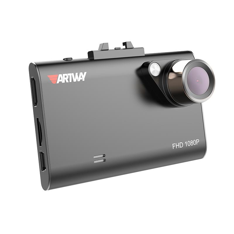 Artway AV-480, Black видеорегистратор4620019034603Видеорегистратор Artway AV-480 – это практичное устройство для ценителей удобных, качественных и функциональных решений. Оснащен Full HD камерой с углом обзора в 170 градусов и большим дисплеем в 2,7 дюйма. Процессор и оптическая система модели специально разработаны для видеосъемки в ночное время и в условиях плохого освещения. Работа автомобильного видеорегистратора осуществляется, чаще всего, в сложных условиях недостаточной освещенности, что может привести к засветке изображения, в том числе номерных знаков. Для преодоления данной проблемы существует встроенная функция WDR (Wide Dynamic Range – расширенный динамический диапазон). Она обеспечивает особый режим съёмки, при котором камера одновременно делает два кадра с разной выдержкой. Принцип работы заключается в том, что первый кадр видеокамера делает с минимальным временем выдержки, благодаря чему чересчур сильный световой поток не успевает засветить участки картинки. Второй кадр камера...