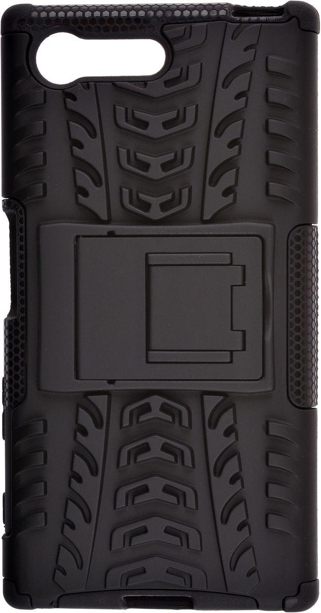 Skinbox Defender Case чехол для Sony Xperia X Compact, Black2000000111032Чехол-накладка Skinbox Defender Case для Sony Xperia X Compact бережно и надежно защитит ваш смартфон от пыли, грязи, царапин и других повреждений. Выполнен из высококачественного поликарбоната, плотно прилегает и не скользит в руках. Чехол-накладка оставляет свободным доступ ко всем разъемам и кнопкам устройства.