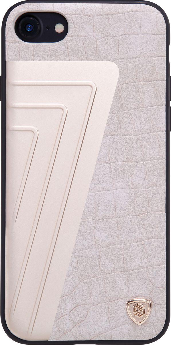 Nillkin HyBrid Case чехол для Apple iPhone 7, White2000000105925Чехол Nillkin HyBrid Case для Apple iPhone 7 изготовлен из высококачественных материалов. Элегантный дизайн, чехол приятен на ощупь. Жесткость чехла предотвращает телефон от повреждений во время транспортировки. Размер чехла точно соответствует размеру телефона с четким соответствием всех функциональных отверстий.