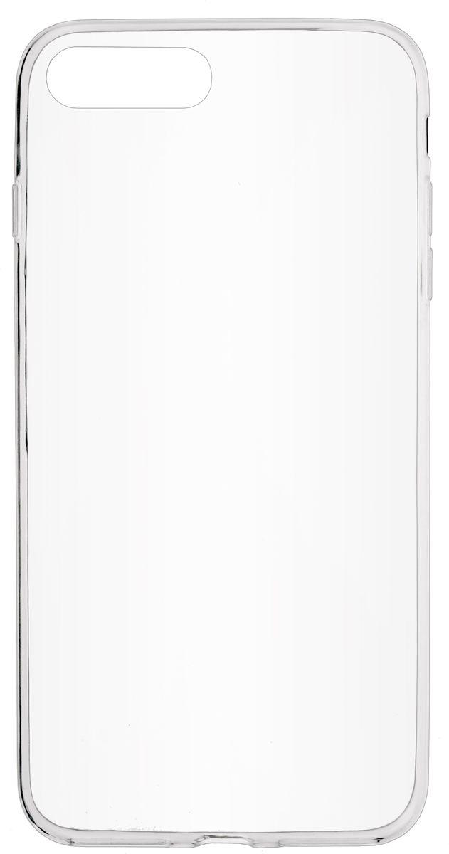 Skinbox Slim Silicone чехол для Apple iPhone 7 Plus, Clear2000000107752Чехол-накладка Skinbox Slim Silicone для Apple iPhone 7 Plus надежно защитит ваш смартфон от внешних воздействий, грязи, пыли, брызг. Он также поможет при ударах и падениях, не позволив образоваться на корпусе царапинам и потертостям. Чехол обеспечивает свободный доступ ко всем функциональным кнопкам, разъёмам и камере смартфона.