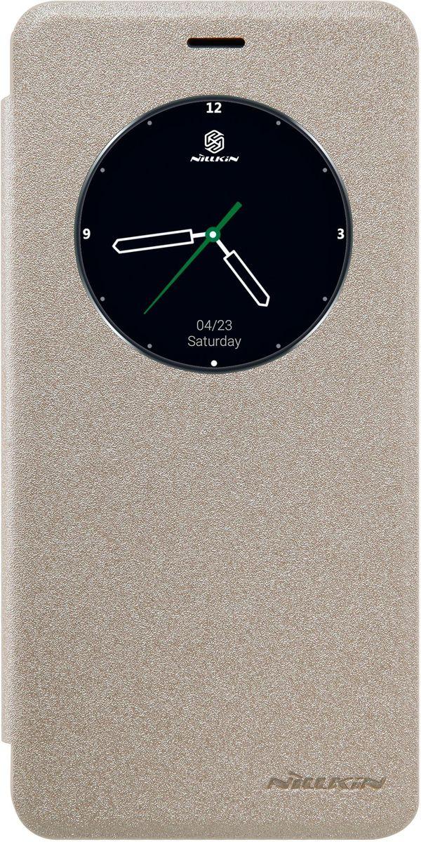 Nillkin Sparkle Leather Case чехол-книжка для Meizu MX6, Golden2000000101279Чехол Nillkin Sparkle Leather Case для Meizu MX6 выполнен из высококачественного поликарбоната и искусственной кожи. Он надежно фиксирует и защищает смартфон при падении. Обеспечивает свободный доступ ко всем разъемам и элементам управления. Благодаря функциональному окну отсутствует необходимость открывать чехол для того, чтобы ответить на вызов, проверить время, воспользоваться камерой или любой другой функцией.