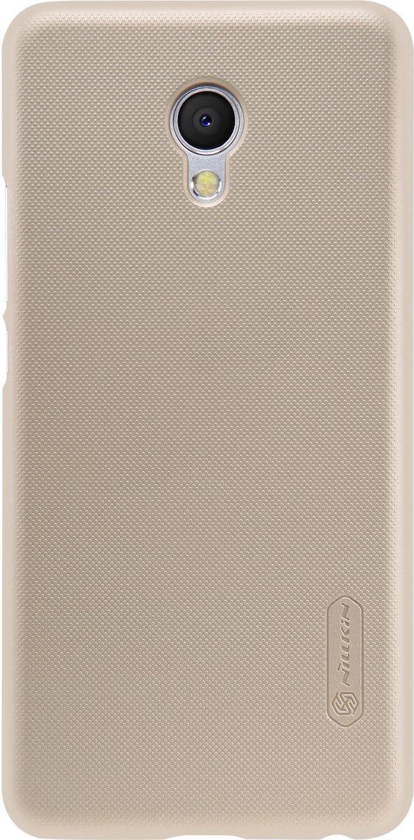 Nillkin Super Frosted Shield чехол для Meizu MX6, Golden2000000101569Чехол Nillkin Super Frosted Shield для Meizu MX6 изготовлен из экологически чистого поликарбоната путем высокотемпературной высокоточной формовки. Обе стороны чехла выполнены в соответствии с самой современной технологией изготовления матовых материалов, устойчивых к оседанию пыли, и покрыты краской, светящейся под воздействием ультрафиолета. Элегантный дизайн, чехол приятен на ощупь. Жесткость чехла предотвращает телефон от повреждений во время транспортировки. Размер чехла точно соответствует размеру телефона с четким соответствием всех функциональных отверстий. Он изготовлен из цельной пластины методом загиба, износостойкий, устойчив к оседанию пыли, не скользит, устойчив к образованию отпечатков, легко чистится.