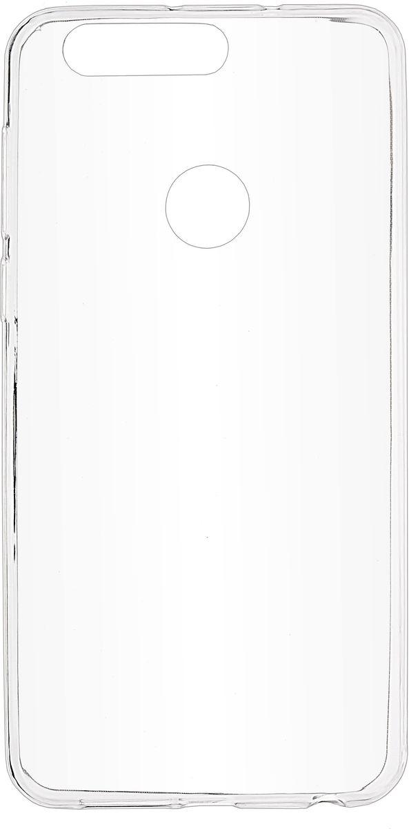 Skinbox Slim Silicone чехол для Huawei Honor 8, Clear