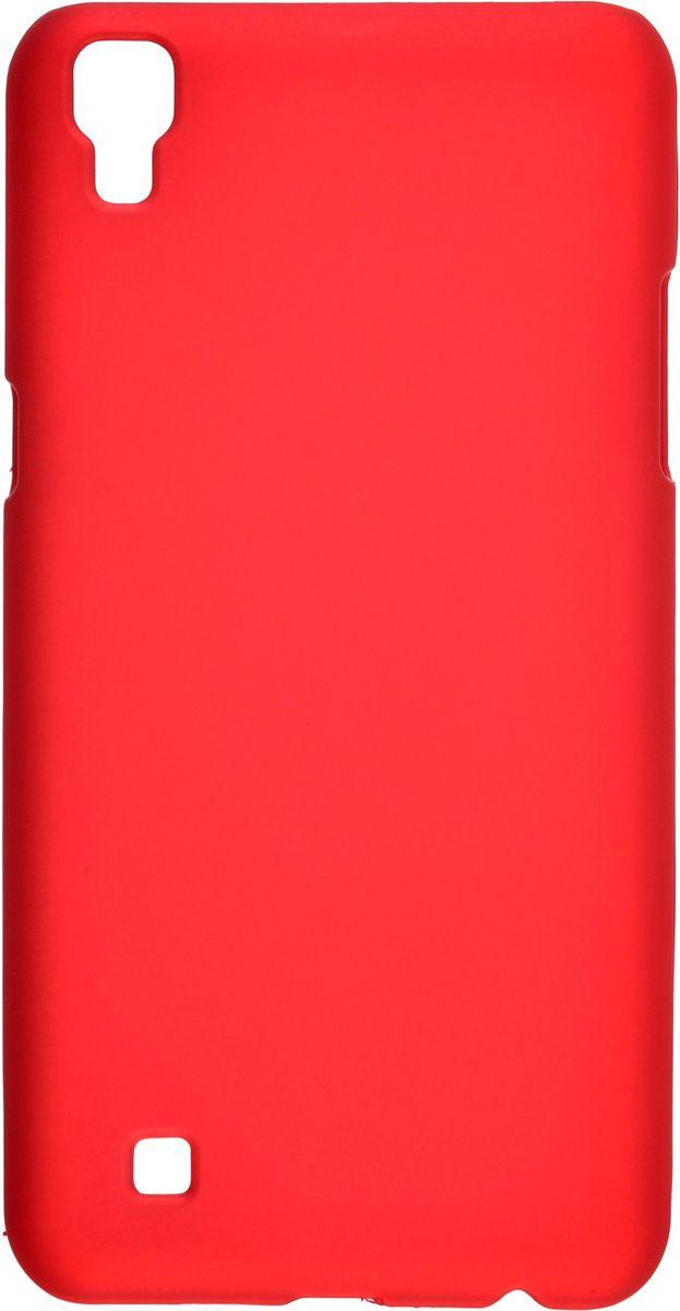 Skinbox Shield 4People чехол для LG X Power K220DS, Red2000000108780Чехол-накладка Skinbox Shield 4People для LG X Power K220DS бережно и надежно защитит ваш смартфон от пыли, грязи, царапин и других повреждений. Выполнен из высококачественного поликарбоната, плотно прилегает и не скользит в руках. Чехол-накладка оставляет свободным доступ ко всем разъемам и кнопкам устройства.