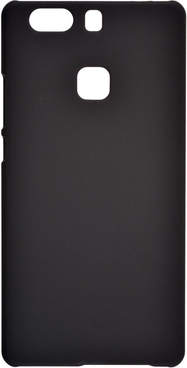 Skinbox 4People чехол для Huawei P9 Plus + защитная пленка, Black2000000114781Чехол Skinbox 4People для Huawei P9 Plus надежно защищает ваш смартфон от внешних воздействий, грязи, пыли, брызг. Он также поможет при ударах и падениях, не позволив образоваться на корпусе царапинам и потертостям. Чехол обеспечивает свободный доступ ко всем функциональным кнопкам смартфона и камере. В комплект идет защитная пленка на экран устройства.