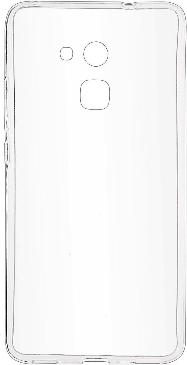 Skinbox Slim Silicone чехол для Huawei Honor 5C, Clear2000000107707Чехол Skinbox Slim Silicone для Huawei Honor 5C надежно защищает ваш смартфон от внешних воздействий, грязи, пыли, брызг. Он также поможет при ударах и падениях, не позволив образоваться на корпусе царапинам и потертостям. Чехол обеспечивает свободный доступ ко всем функциональным кнопкам смартфона и камере.