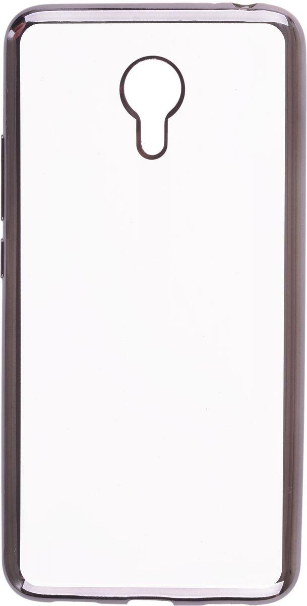 Skinbox Silicone Chrome Border 4People чехол для Meizu M3 Note, Dark Silver2000000105369Чехол-накладка Skinbox Silicone Chrome Border 4People для Meizu M3 Note бережно и надежно защитит ваш смартфон от пыли, грязи, царапин и других повреждений. Выполнен из высококачественного поликарбоната, плотно прилегает и не скользит в руках. Чехол-накладка оставляет свободным доступ ко всем разъемам и кнопкам устройства.