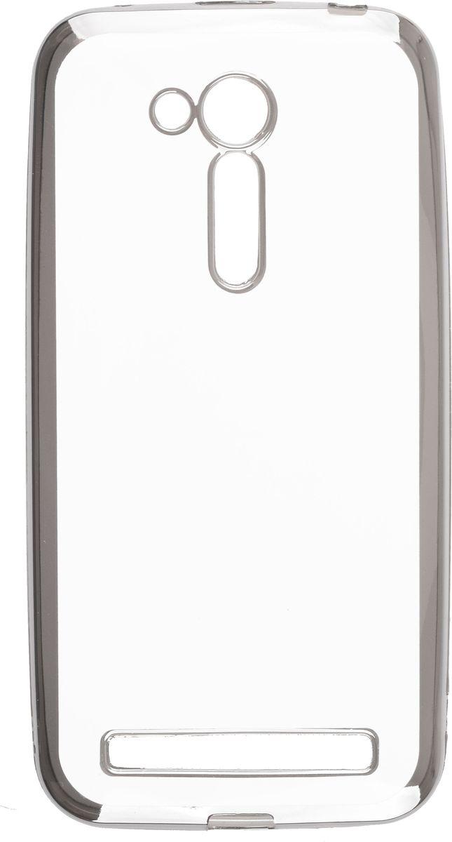 Skinbox Silicone Chrome Border 4People чехол для Asus Zenfone Go ZB452KG/ZB450KL, Silver2000000105239Чехол-накладка Skinbox Silicone Chrome Border 4People для Asus Zenfone Go (ZB452KG/ZB450KL) бережно и надежно защитит ваш смартфон от пыли, грязи, царапин и других повреждений. Выполнен из высококачественного поликарбоната, плотно прилегает и не скользит в руках. Чехол-накладка оставляет свободным доступ ко всем разъемам и кнопкам устройства.