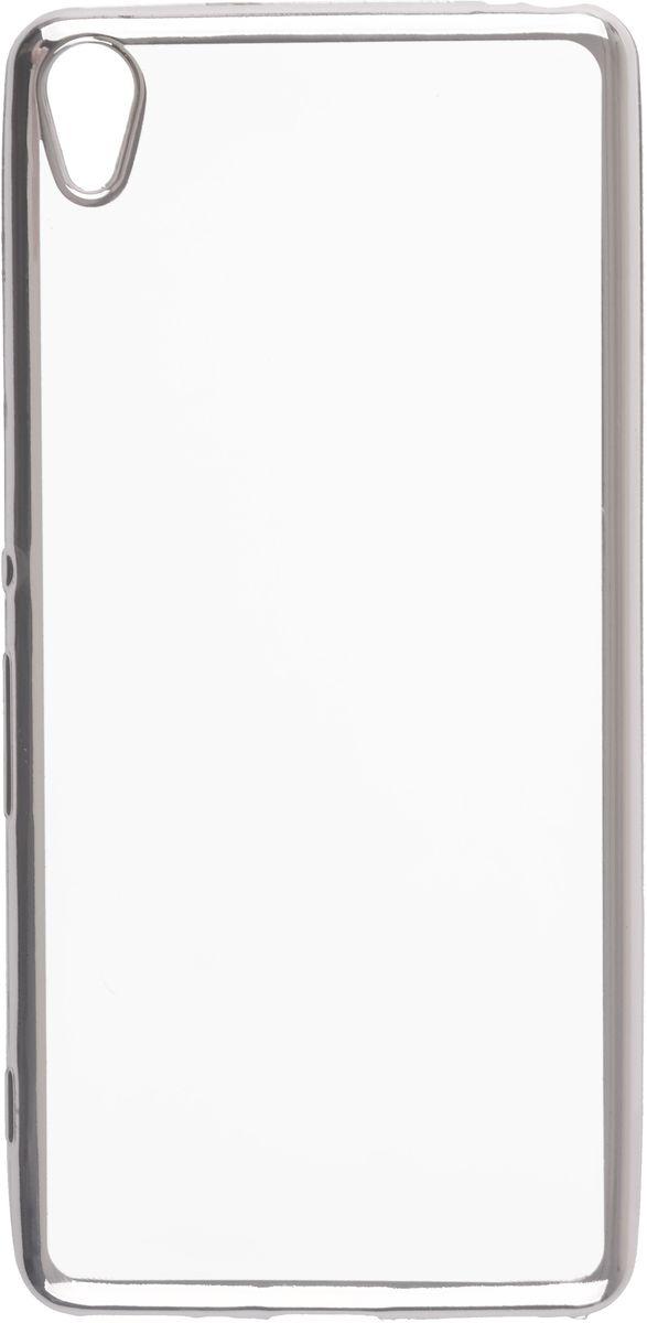 Skinbox Silicone Chrome Border 4People чехол для Sony Xperia XA, Silver2000000105741Чехол-накладка Skinbox Silicone Chrome Border 4People для Sony Xperia XA бережно и надежно защитит ваш смартфон от пыли, грязи, царапин и других повреждений. Выполнен из высококачественного поликарбоната, плотно прилегает и не скользит в руках. Чехол-накладка оставляет свободным доступ ко всем разъемам и кнопкам устройства.