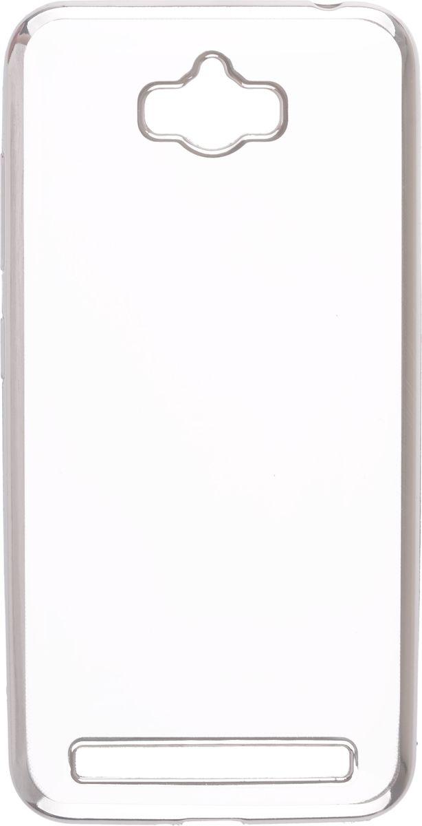 Skinbox Silicone Chrome Border 4People чехол для Asus Zenfone Max ZC550KL, Silver2000000105796Чехол-накладка Skinbox Silicone Chrome Border 4People для Asus Zenfone Max (ZC550KL) бережно и надежно защитит ваш смартфон от пыли, грязи, царапин и других повреждений. Выполнен из высококачественного поликарбоната, плотно прилегает и не скользит в руках. Чехол-накладка оставляет свободным доступ ко всем разъемам и кнопкам устройства.