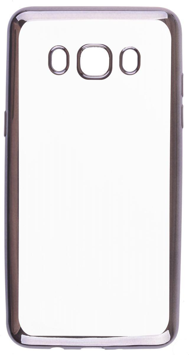 Skinbox Silicone Chrome Border 4People чехол для Samsung Galaxy A5 (2016), Dark Silver2000000105611Чехол-накладка Skinbox Silicone Chrome Border 4People для Samsung Galaxy A5 (2016) бережно и надежно защитит ваш смартфон от пыли, грязи, царапин и других повреждений. Выполнен из высококачественного поликарбоната, плотно прилегает и не скользит в руках. Чехол-накладка оставляет свободным доступ ко всем разъемам и кнопкам устройства.