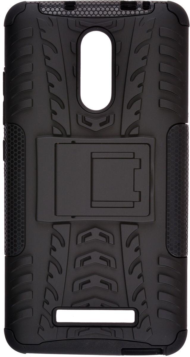 Skinbox Defender Case чехол для Xiaomi Redmi Note 3, Black2000000114835Чехол-накладка Skinbox Defender Case для Xiaomi Redmi Note 3 бережно и надежно защитит ваш смартфон от пыли, грязи, царапин и других повреждений. Выполнен из высококачественного поликарбоната, плотно прилегает и не скользит в руках. Чехол-накладка оставляет свободным доступ ко всем разъемам и кнопкам устройства.