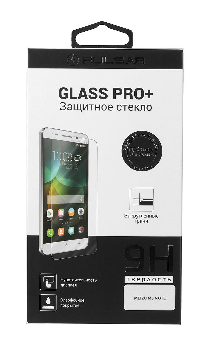 Pulsar Glass Pro+ защитное стекло для Meizu M3 Note21869Защитное стекло Pulsar Glass Pro+ для смартфона Meizu M3 Note. Изготовлено из специально обработанного многослойного закаленного стекла. Олеофобное покрытие предотвратит появление следов от пальцев и сохранит чувствительность сенсора смартфона на 100%. Клеевой слой на задней поверхности позволяет легко устанавливать закаленное стекло без особых навыков.