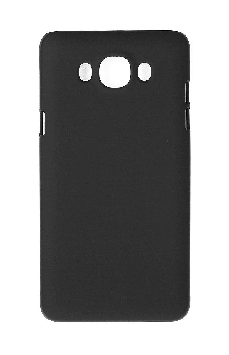 Pulsar Clipcase PC Soft-Touch чехол для Samsung Galaxy J5 2016, Black21905Чехол Pulsar Clipcase PC Soft-Touch для Samsung Galaxy J5 (2016) бережно и надежно защитит ваш смартфон от пыли, грязи, царапин и других повреждений. Выполнен из высококачественных материалов, плотно прилегает и не скользит в руках. Чехол оставляет свободным доступ ко всем разъемам и кнопкам устройства.