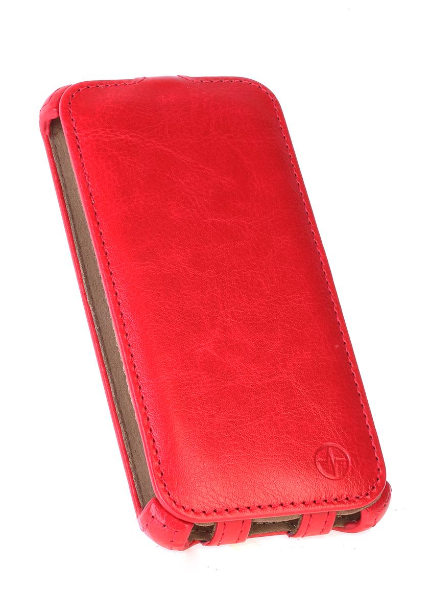 Pulsar Shellcase чехол для Samsung Galaxy J1 2016, Red21920Чехол-флип Pulsar Shellcase для Samsung Galaxy J1 (2016) бережно и надежно защитит ваш смартфон от пыли, грязи, царапин и других повреждений. Выполнен из высококачественных материалов, плотно прилегает и не скользит в руках. Чехол оставляет свободным доступ ко всем разъемам и кнопкам устройства.