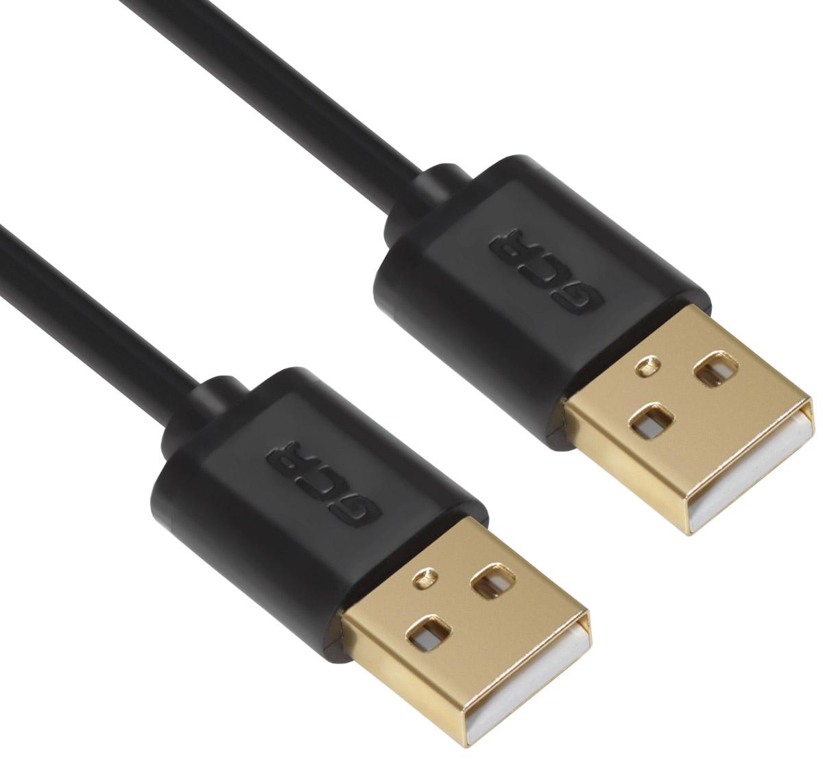 Greenconnect Russia GCR-UM5M-BB2SG, Black кабель USB (1 м)GCR-UM5M-BB2SG-1.0mКабель Greenconnect Russia GCR-UM5M-BB2SG позволит увеличить расстояние до подключаемого устройства. Может быть использован с различными USB девайсами. Экранирование кабеля позволит защитить сигнал при передаче от влияния внешних полей, способных создать помехи.