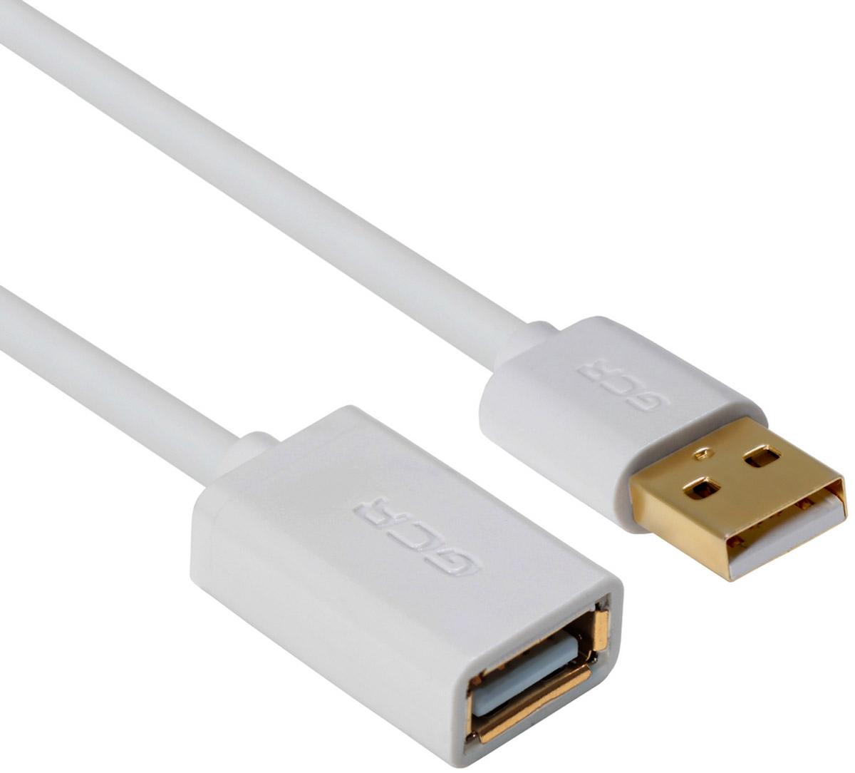 Greenconnect Russia GCR-UEC5M-AAG, White удлинитель USB 2.0 (0,15 м)GCR-UEC5M-AAG-0.15mКабель-удлинитель USB 2.0 Greenconnect Russia GCR-UEC5M-AAG позволит увеличить расстояние до подключаемого устройства. Может быть использован с различными USB девайсами. Экранирование кабеля защищает сигнал при передаче от влияния внешних полей, способных создать помехи.