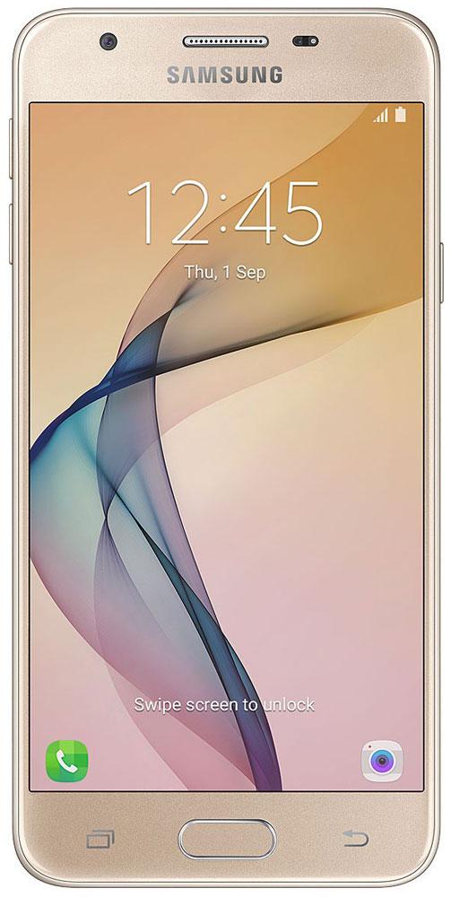 Samsung SM-G570F Galaxy J5 Prime, GoldSM-G570FZDDSERSamsung SM-G570F Galaxy J5 Prime отличается высокой функциональностью и оснащен всеми возможностями для общения и развлечений. Великолепная обработка тонкого металлического корпуса подчеркивает изысканный дизайн. Тонкая рамка экрана позволяет удобно использовать смартфон одной рукой. Функция широкоугольного селфи на фронтальной камере позволяет уместить в кадре всех ваших друзей. Вы сможете получить отличный групповой автопортрет, даже если держите камеру в вытянутой руке, а не на моноподе. Сканер отпечатка пальца позволяет разблокировать смартфон менее чем за секунду. Ваши данные под надежной защитой. Светосильный объектив с диафрагмой F1.9 позволяет получать отличные снимки даже при низкой освещенности, а 13-мегапиксельная камера гарантирует высочайшую четкость изображения и великолепную проработку мельчайших деталей. Увеличенный объем встроенной и оперативной памяти обеспечивают плавную работу и отличную поддержку режима...
