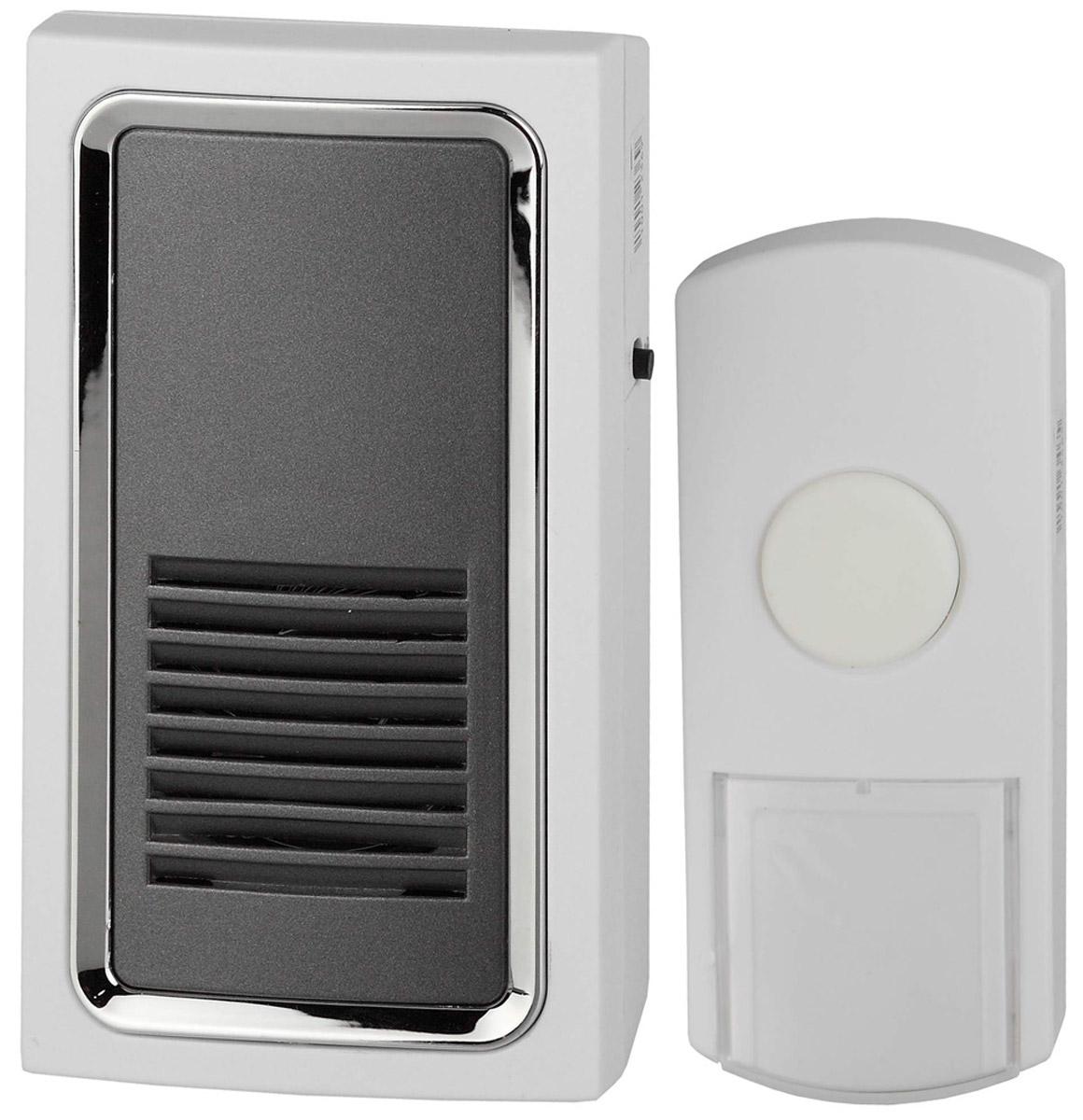 ЭРА C96 беспроводной звонок, от сетиC96Беспроводной звонок ЭРА C96 быстро устанавливается в квартирах, домах, административных или офисных учреждениях. Исключает необходимость прокладки кабеля и монтажных работ. Долговечен, безопасен в эксплуатации.