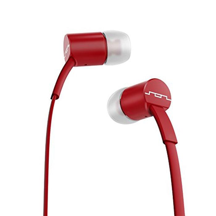 Sol Republic 1112-73 Jax Sb, Crimson наушники1112-73Внутриканальные наушники Sol Republic 1112 — это качественный звук, который всегда под рукой. Благодаря динамикам i2 sound engine наушники выдают мощное и насыщенное басами звучание, которое превзойдет ваши ожидания. Наушники снабжены плоским кабелем, а значит, вам не придется тратить кучу времени на распутывание проводов. Интегрированный трехкнопочный пульт ДУ с микрофоном позволят управлять воспроизведением, громкостью и отвечать на телефонные звонки. Комплект из сменных насадок четырех размеров обеспечит комфорт и прекрасную звукоизоляцию для использования наушников в транспорте или в другой шумной обстановке.