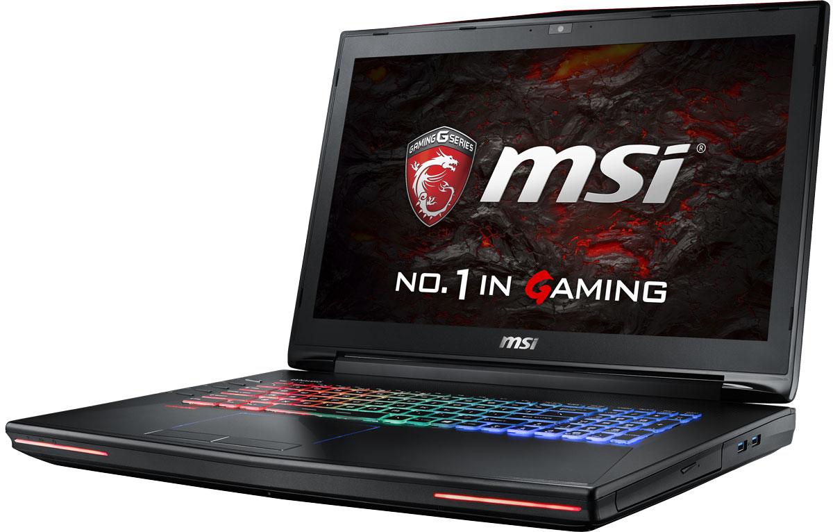 MSI GT72VR 6RD-403RU Dominator, BlackGT72VR 6RD-403RUКомпания MSI создала первый в мире игровой ноутбук с новейшим поколением графических карт NVIDIA GeForce GTX 10 Series. По ожиданиям экспертов производительность новой GeForce GTX 1060 должна более чем на 40% превысить показатели графических карт GeForce GTX 900M Series. Благодаря инновационной системе охлаждения Cooler Boost и специальным геймерским технологиям, применённым в игровом ноутбуке MSI GT72VR, графическая карта новейшего поколения NVIDIA GeForce GTX 1060 сможет продемонстрировать всю свою мощь без остатка. Олицетворяя концепцию Один клик до VR и предлагая полное погружение в игровые вселенные с идеально плавным геймплеем, игровой ноутбук MSI GT72VR разбивает устоявшиеся стереотипы об исключительной производительности десктопов. Ноутбук MSI готов поразить любого геймера, заставив взглянуть на мобильные игровые системы по-новому. Ноутбук MSI GT72VR оснащен процессором 6-го поколения Intel i7-6700HQ Skylake. По сравнению с предыдущими...