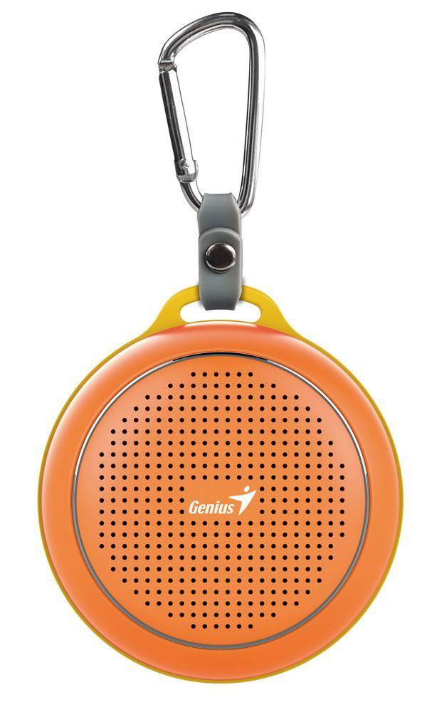 Genius SP-906BT, Orange портативная колонка31731072103Невероятная громкость и глубокие басы благодаря усовершенствованной конструкции. Колонка Genius SP-906BT дает заряд отличного настроения. Пять ярких цветовых исполнений. Размер примерно с хоккейную шайбу. Интеллектуальная технология непрерывного звука: чистые высокие и низкие частоты без пропусков. Технология пространственного звучания позволяет оказаться в центре происходящего. Благодаря встроенному усилителю громкий звук колонки SP-906BT проникает в самое сердце. Прочный и гладкий карабин для подвешивания выполнен из стали и алюминия. Он устойчив к ржавчине и рассчитан на долгую службу, а силиконовый ободок обеспечивает одновременно гибкость и прочность. Сочетание жесткости и мягкости, универсальная колонка Genius SP-906BT! Благодаря передовой защите цепей и технологии Bluetooth 4.1 соединение устанавливается еще быстрее (стандартное расстояние для беспроводной работы: 10 м). Колонка SP-906BT поддерживает все продукты с технологией...