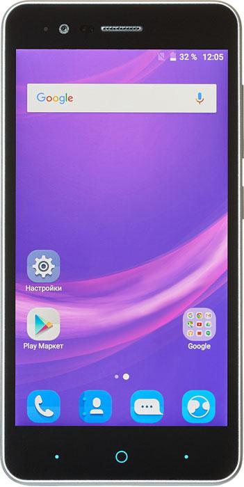 ZTE Blade A510, GreyBLADE.A510.GRСмартфон ZTE Blade A510 может похвастаться эргономичным стильным корпусом, доступным в нескольких цветовых решениях и современным функционалом. Данная модель работает на энергоэффективном процессоре MediaTek MT6735P с 4 ядрами и частотой 1 ГГц. Оперативной памяти 1 ГБ достаточно для комфортной работы системы и использования приложений. Работает смартфон стабильно и шустро. ZTE Blade A510 получил хороший дисплей с матрицей S-IPS. Экран не имеет воздушной прослойки, яркость хорошая, картинка хорошо видна под любыми углами. Сенсор поддерживает до 10 одновременных касаний. Установить можно две сим-карты: micro-SIM и nano-SIM. Только один слот обеспечивает поддержку сетей 4G (B1/B3/7/8/20). Карта памяти microSD (до 32 гигабайт) устанавливается в отдельный слот. Слоты находятся под съемной задней панелью. В комплект также входит вторая съемная панель, отличающая цветом. Телефон сертифицирован EAC и имеет русифицированный интерфейс меню, а также...